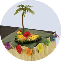 ti leaf decorations