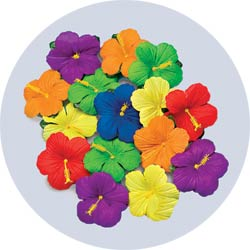 Hibiscus flower petals for a luau party or hawaiian party hibiscus flower petals mightylinksfo
