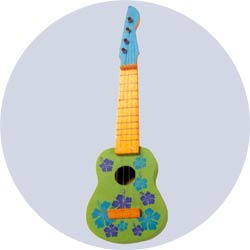 ukulele decoration